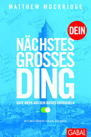 Book Cover: NÄCHSTES GROSSES DING