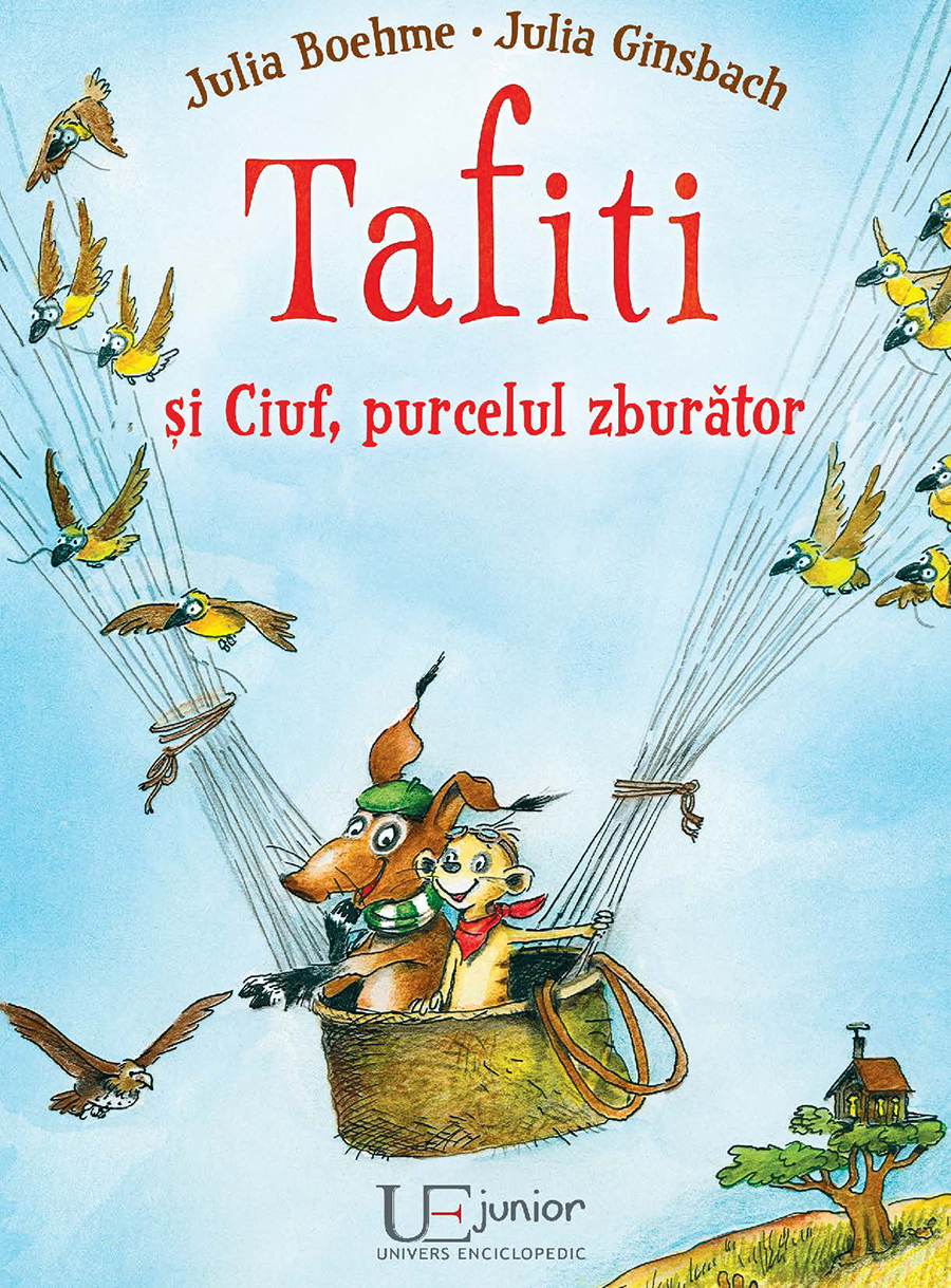 Book Cover: TAFITI SI CIUF, PURCELUL ZBURATOR